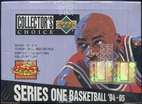 deck collectors choice 1994 basketball 1994 95 deck collector s choice series 1 basketball