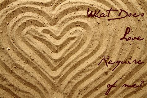 What Does Love Require of Me? - WBFJ.fm