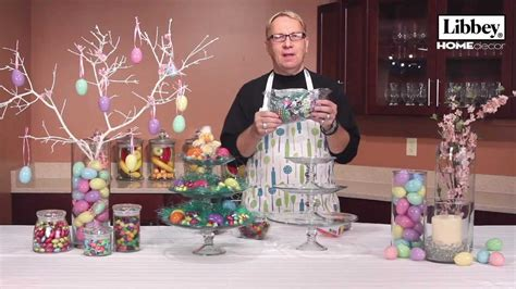 easter home decor ideas libbey glass youtube
