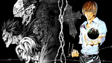 Light Anime Wallpaper - light yagami hd fondo de pantalla and fondo de