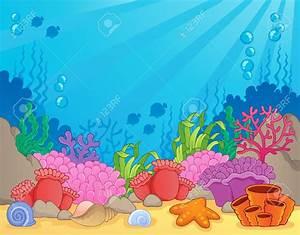 Cartoon Underwater Coral Reef   www.pixshark.com - Images ...