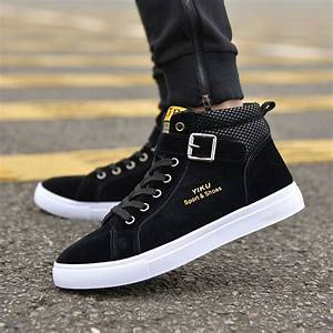 Aliexpress.com : Buy 2017 Men Flock Casual Shoes Korean ...