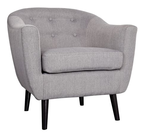 nspire nora accent chair grey 403 840gy modern