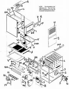 Furnace Diagram  U0026 Parts List For Model Gne100f14g1 Icp