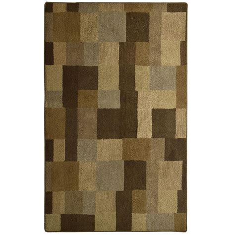rugs home depot lanart rug cocoa highlands 9 ft x 12 ft area rug the