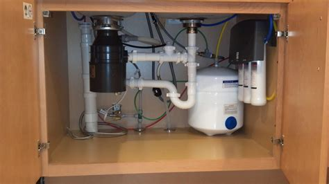 under sink ro under sink reverse osmosis system drainrooter plumbing