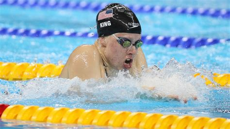 olympic swimming results  lilly king wins gold