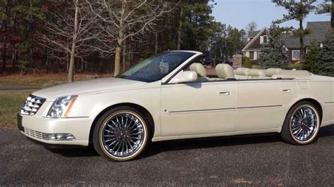 Sold-- 2009 Cadillac Dts Deville Convertible~low Miles