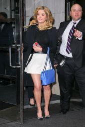 Sasha Pieterse - Leaving Her Hotel in New York City 4/7 ...