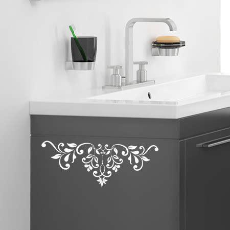 stickers pour bureau stickers muraux frises baroque petales adh sifs salle de