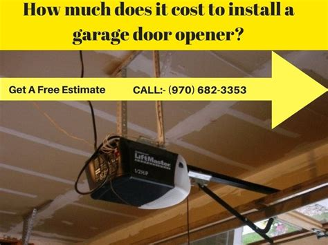 how much does it cost to install kitchen cabinets how much does it cost to install a garage door opener 9874