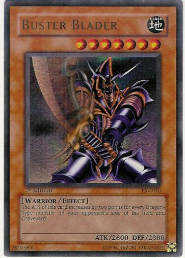 yu gi oh psv 050 buster blader unlimited edition ultra