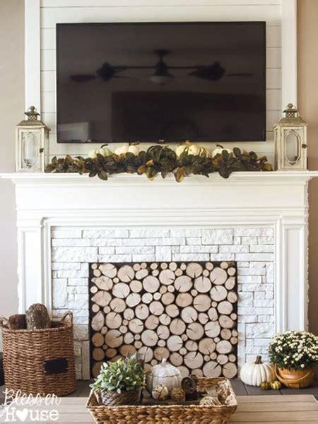 home dzine home diy diy faux fireplace