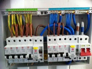 electrical fuse boards consumer unit swansea local electricians in swansea mje electrical