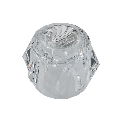 shower knobs home depot delta clear knob replacement handle with chrome arrow
