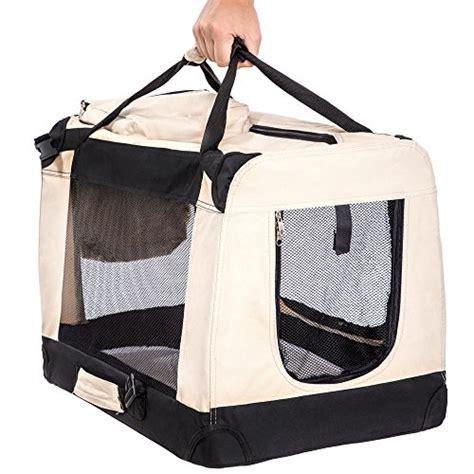 gabbia per cani aereo tectake borsa box trasportino pieghevole per cani