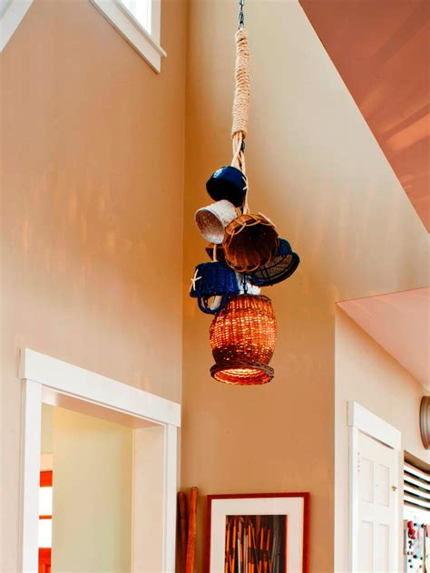 Recycled Light Fixtures  Diy Network Blog Made + Remade