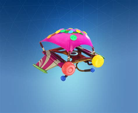 glider crash sugar fortnite battle season pass gliders royale list umbrella skins tier skin guarda chuvas game progameguides tooth rare