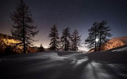 Night Landscape Themes Nature