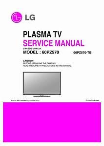 Lg 60pz570-tb  Chassis Pa12a  Service Manual