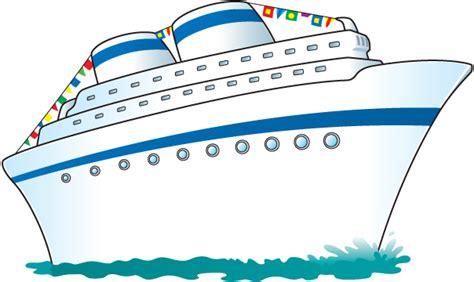 Clip art cruise ship