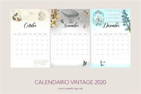 calendarios gratis descargar sweet