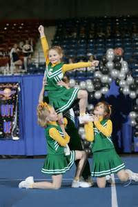 Thigh Stand Cheer Stunt