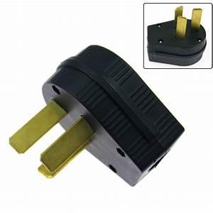 50a Welding Dryer Power 3 Prong Plug 208 220 250 Volt For Welder Model 10