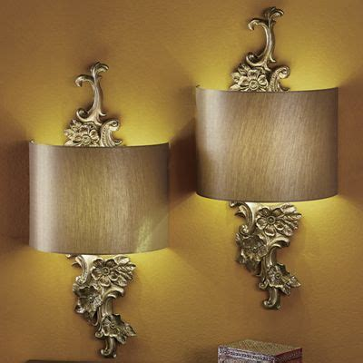 wireless wall sconce gold floral wireless led wall sconce from seventh avenue