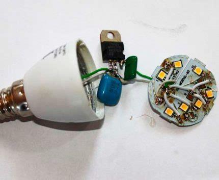 Ремонт светодиодных светильников – виды причины и способы устранения неисправностей