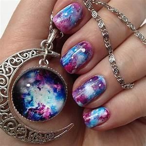 Galaxy Schleim Selber Machen : galaxy nails anleitung einfaches nageldesign selber machen ~ Frokenaadalensverden.com Haus und Dekorationen