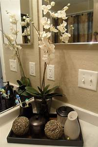 decorating with one pink chic went shopping and redone my With pictures of bathroom decorating ideas