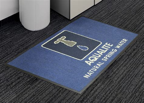 waterhog commercial floor mats waterhog logo inlay custom logo floor mat floormatshop