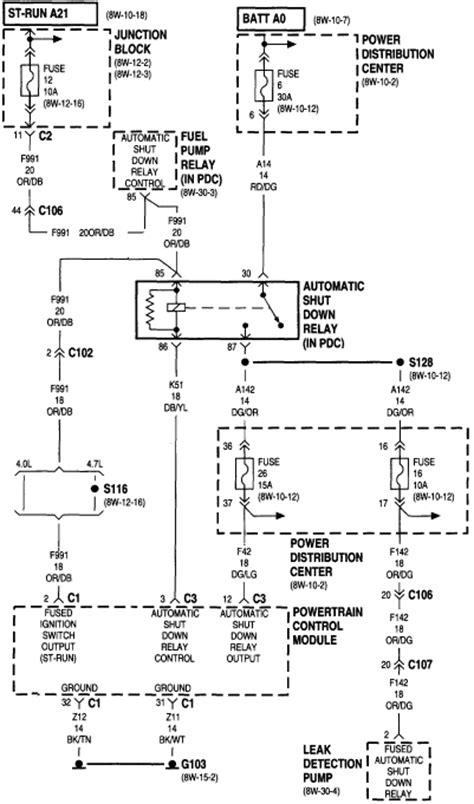 2001 Jeep Power Window Wiring Diagram by No Fuel No Start Jeep Forum