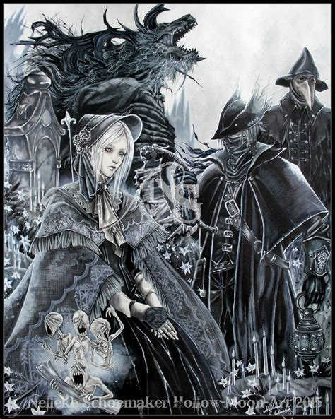 Bloodborne By Hollow Moon Art On Deviantart