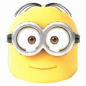 despicable me minions halloween costumes With minion mask template