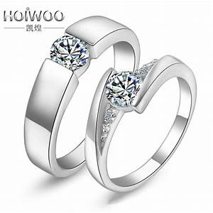 fashion engagement cz imitation diamond rings sets for With imitation wedding rings