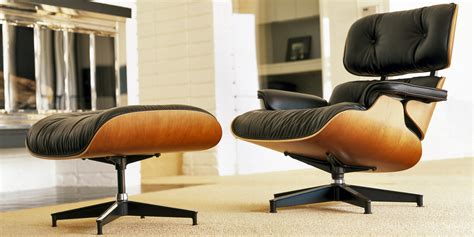a history of the eames lounge chair ottoman papillon