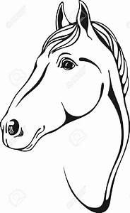 Pferdekopf Schwarz Weiß : pferdekopf vorlage kinderbilder download ~ Watch28wear.com Haus und Dekorationen