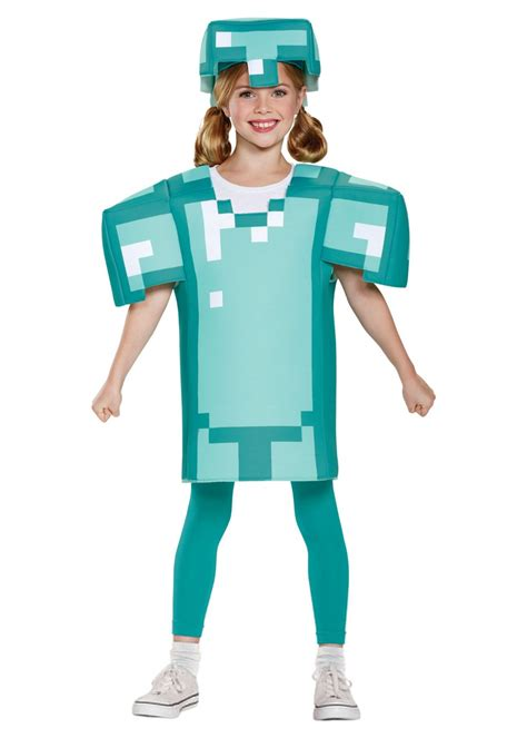 Minecraft Armor Girls Costume - Video Game Costumes