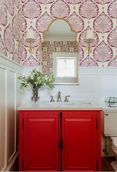 Powder Wainscoting Vanity Bathroom Batten Board Bathrooms