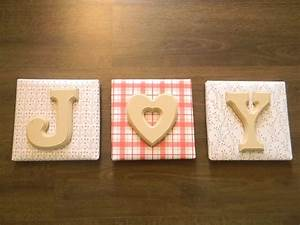 Dollar store art canvas wood letters toll paint for Dollar store wooden letters