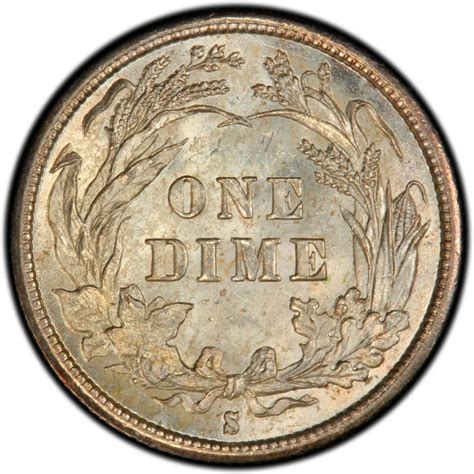 barber dime 1895 barber dime values and prices past sales coinvalues com