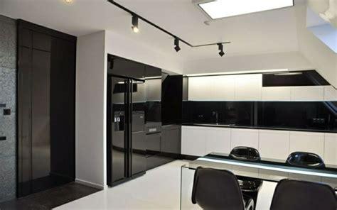 color negro  la cocina  ideas creativas  diferentes
