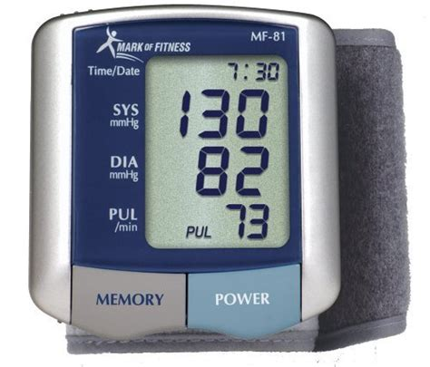 Amazon.com: Mark of Fitness MF-81 Wrist Blood Pressure