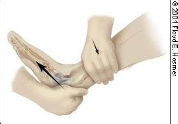 anterior drawer test ankle management of ankle sprains american family physician
