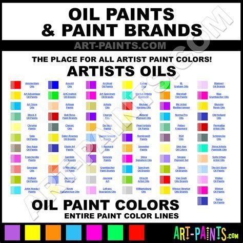 inspiring paint colors 6 paint color chart
