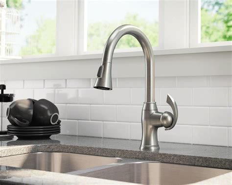 antique kitchen sink faucets 772 bn brushed nickel pull kitchen faucet
