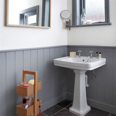 white and gray bathroom ideas grey and white panelled bathroom bathroom decorating