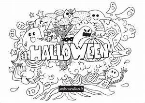Dessin D Halloween Facile : coloriage imprimer halloween laborde yves ~ Dallasstarsshop.com Idées de Décoration